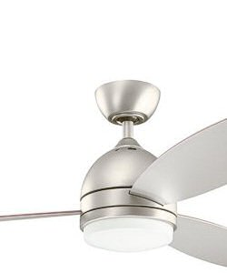 Kichler Vassar 1-Light Fan Brushed Nickel 300175NI